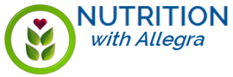 Nutrition with Allegra Logo
